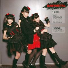 Moa, Suzuka & Yui  #BABYMETAL