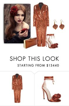 """Sparkle In Copper"" by sjlew ❤ liked on Polyvore featuring Tom Ford"