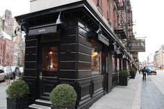 Coles's NYC Greenwich Village...designed by Steven Gambrel