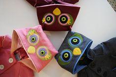 Rosie Owl Girls Coat by littlegoodall on Etsy, $155.00