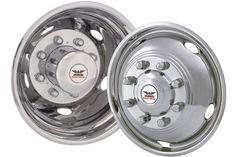 """Phoenix USA D.O.T. Mount Dual Wheel Simulators for 2005+ Ford F450/F550, Full Set for 19-1/2"""" Wheels"""
