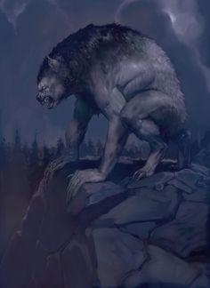 Wolf #werewolf #shapeshifter #werewolves #fantasy #art