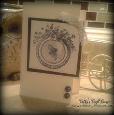 """Hope card"" @  Cathy's Craft Corner"