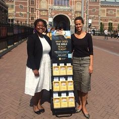 Public witnessing in Amsterdam.
