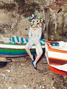 COLOUR PLAY.         Valerija Kelava By Sofia Sanchez And Mauro Mongiello For Tar Magazine Summer 2012