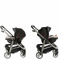 "Graco Modes Click Connect Stroller - Onyx - Graco - Babies ""R"" Us   Stroller can face towards or away from parent, be a stroller frame for the carseat, folds flat as a bassinet. $229.99"