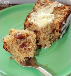 Receita de bolo de banana de liquidificador com farinha de rosca, nozes e passas