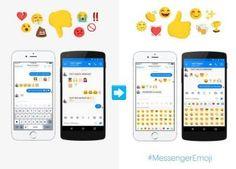 Facebook Ads New Emojis To Messenger App #Facebook #Emoji