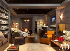 One sexy room. Inside Architectural Digest's Oscar's Green Room At The 2012 Academy Awards