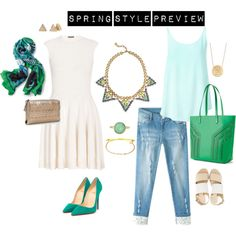 """spring style preview"" by melandg on Polyvore"