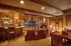 54 best Home Bar & Game Room Design Ideas images on Pinterest | Man ...