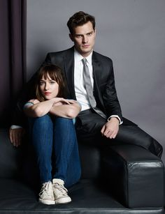 Fifty Shades Of Grey Promotional Photoshoot