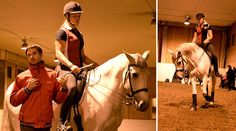 Paulo Bastos delade med sig av sina kunskaper under en föreläsning och clinic på Stall Johannesberg. Han bjöd bland annat på två viktiga kontrollpunkter för när hästen går i rätt form – lite otippat var det ganaschen och manken.