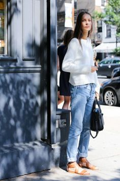 ELLE.com photographer Dan Roberts captures the chicest street style moments from New York Fashion Week, September 2014. Revisit ahead of this year's shows.