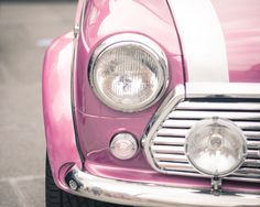 My other car is a custom pink mini cooper