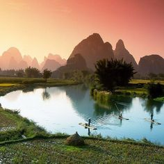 Fishing on the Li River China. Photo - John Heaton. Also follow  @TheBeautyOfThailand #OurLonelyPlanet Hotels-live.com via https://instagram.com/p/6gi_7NRtHY/