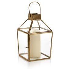 Wilko Glass Terrarium Lantern