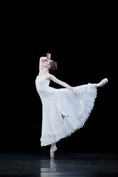 Angela Wood from the Royal Ballet School.