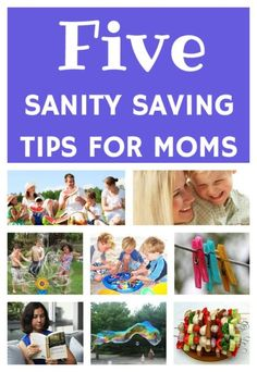 *Number 5 is a must! Are you doing it?* Here are 5 sanity saving shortcuts for moms! AD