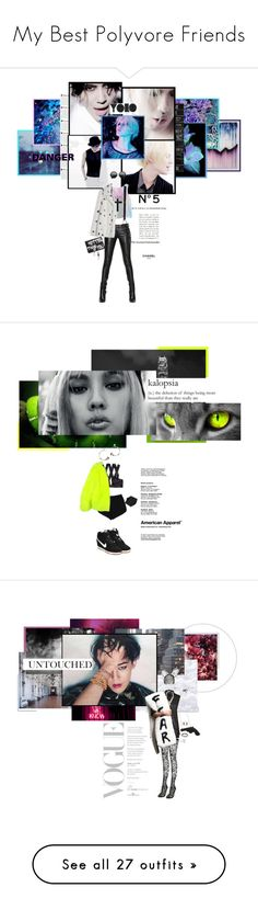 """""""My Best Polyvore Friends"""" by ioreth ❤ liked on Polyvore featuring WALL, Chanel, Chicnova Fashion, Aula Aila, Balmain, The Row, ASOS, House of Lavande, country and H&M"""