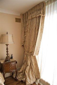 Opulent Curtain Designs By June Rayfus Interiors, Navan, Co. Meath.