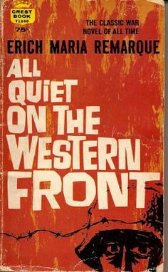 All Quiet On The Western Front: I have a hard time re-reading this book even though I love it, because I sob through the ENTIRE FREAKING THING.