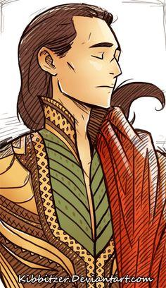 "King Loki   ""LOKI: 2 FaBuLoUs 4 U"" by Kibbitzer http://kibbitzer.deviantart.com/art/LOKI-2-FaBuLoUs-4-U-594258743"