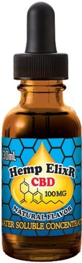 Hemp Elixr 3000 Mg CBD water soluble