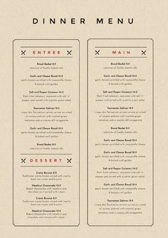 59 best menu maker diy menu templates food drink images in 2018