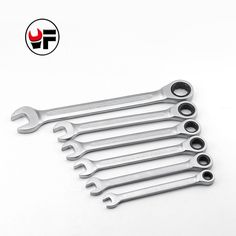 YOFE 8,10,12,13,14,17mm  Ratchet Spanner Combination wrench a set of keys gear ring wrench ratchet handle Chrome Vanadium