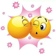 sending kisses your way Smiley Emoji, Smiley Emoticon, Emoticon Faces, Funny Emoji Faces, Smiley Faces, Emoticons Do Facebook, New Emoticons, Emoticons Code, Love Smiley