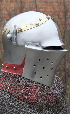 Late 14th Century Bascinet by Wild Armoury -- myArmoury.com