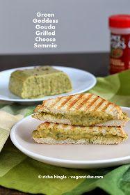 Vegan Richa: Green Goddess Gouda Cheese and Vegan St. Patrick's Day Round up.