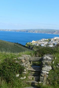 CORNISH STILE | Cornwall: 'En-route to Port Isaac on a walk from Port Quin' ✫ღ⊰n