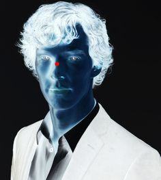 Focus on the red dot for about 40 seconds without blinking, then immediately look at a white wall while blinking rapidly. enjoy :) I love these things :-)