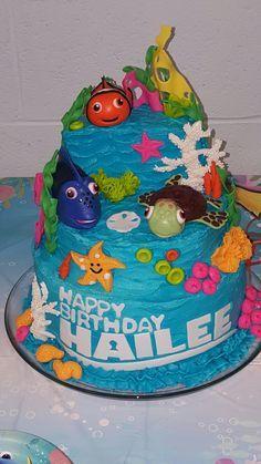 Safeway cake Finding Dory PARTY Pinterest Cake Birthdays