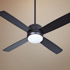 "44"" Craftmade Montreal Flat Black Ceiling Fan"