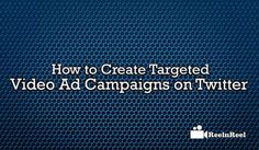 new step towards the video is targeting brands on its platform. Marketers must know the creation of targeted ad campaigns on various platforms Seo News, Twitter Video, Ad Campaigns, Marketing And Advertising, Ads, Create, Youtube, Advertising Campaign, Youtube Movies