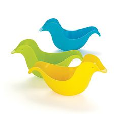 Dunck bath toys by Skip Hop -- Rinse, stack, pour, and float!