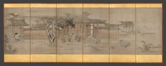 Hanabusa Itchō | Taking Shelter from the Rain | Japan | Edo period (1615–1868) | The Met