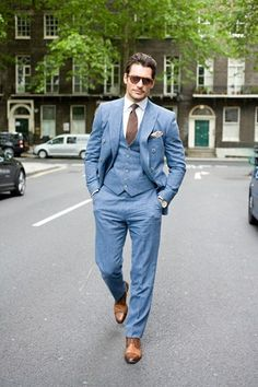 Street Style from @GQ Magazine - David Gandy #LCM
