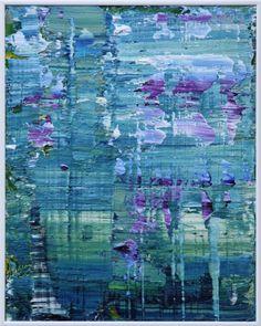 "Saatchi Art Artist Koen Lybaert; Painting, ""Giverny 004 [Abstract N° 1513]"" #art"