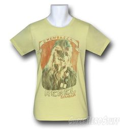 Images of Chewbacca Rebel Soldier Junk Food T-Shirt