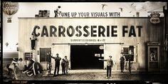 Carrosserie™ - Webfont & Desktop font « MyFonts