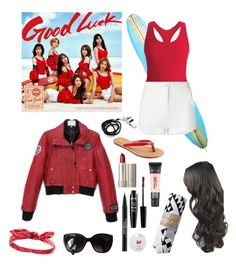 """""""AOA Good Luck MV♪"""" by lily-x-kpop ❤ liked on Polyvore featuring Black Diamond, Eleventy, SONOMA Goods for Life, Ilia, Trish McEvoy, NYX, L'Oréal Paris, Maybelline, Charlotte Russe and Chanel"""