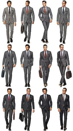 Mens corporate suits: Dress for Success