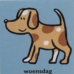 Dagpicto woensdag (weekkalender) Schedule Cards, Story Stones, School Organization, Beautiful Dogs, Scooby Doo, Activities For Kids, Classroom, Stamp, Cool Stuff