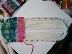 Moxie Blue: Learning Saori Weaving...