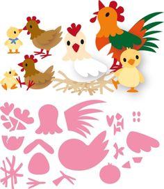 Col1429 Eline's chicken family