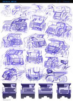"""""""Tombereau 2020-2030"""": le meilleur gros plan de travail - Cardesign.ru - La ressource principale de la conception du véhicule. voitures de conception. Portefeuille. Photos. Projets. Forum conception."""